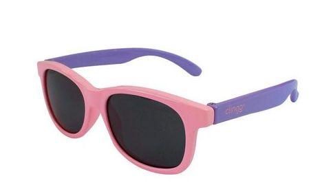 Óculos de Bebê Escuros Rosa - Clingo