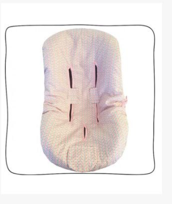 Protetor de Bebê Conforto Hearts