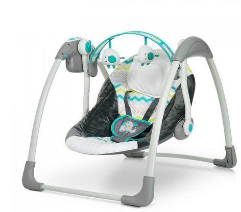 Cadeira Automática Verde Plush Toys - Mastela