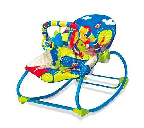 Cadeira Rocker Selva Azul