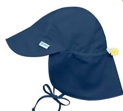 Chapeu de Banho Australiano Azul Marinho G ( 2 - 4 anos) FPS 50+