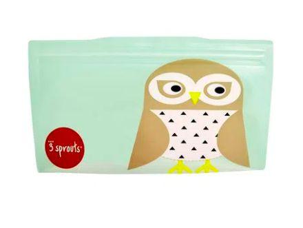 Snack Bag kit com 2 unidades Coruja