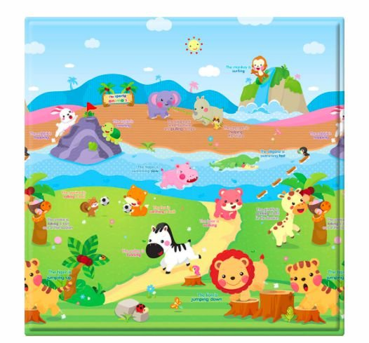 Tapete Baby Play Mat 125 X125 Safety
