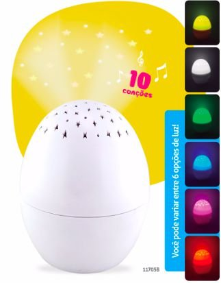 Luminaria Musical Little Egg