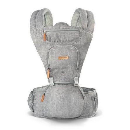 Canguru para Bebê Cinza Multikids Baby - Fisher Price
