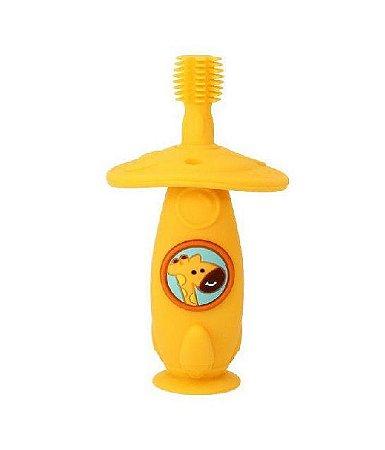 Escova Massageadora 360 Girafa Amarelo - Marcus & Marcus