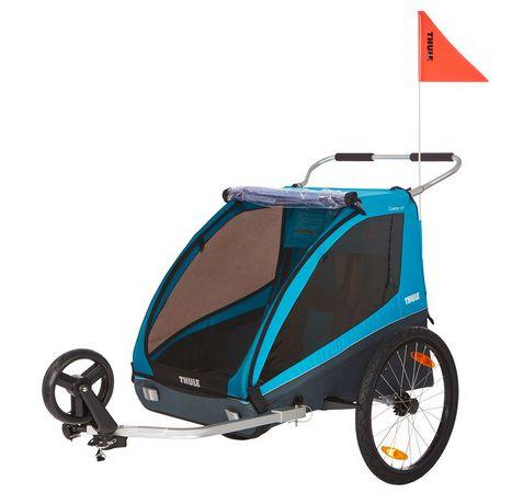 Bike Trailer p/ 1 ou 2 Bebes Thule Coaster XT