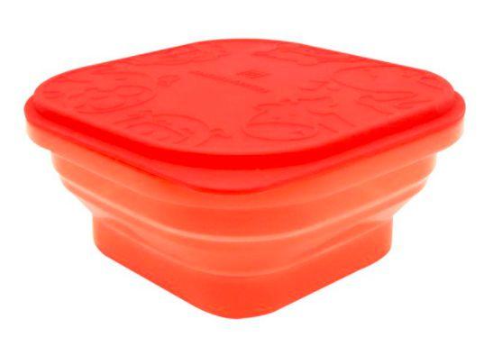 Container Dobrável em Silicone Leão Vermelho - Marcus & Marcus