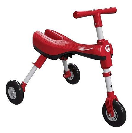 Triciclo Dobrável Vermelha - Bimba