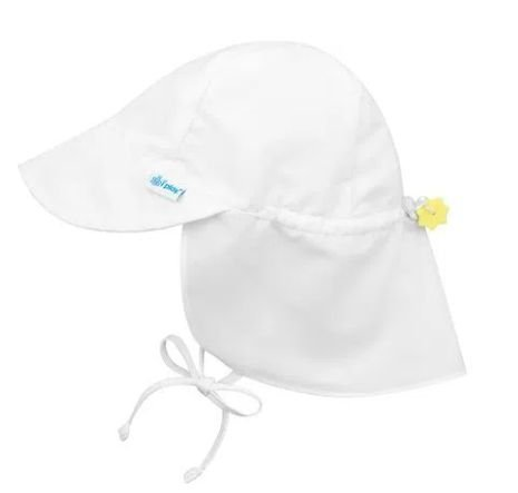 Chapeu de Banho Australiano Branco  ( 2 - 4 anos) FPS 50+