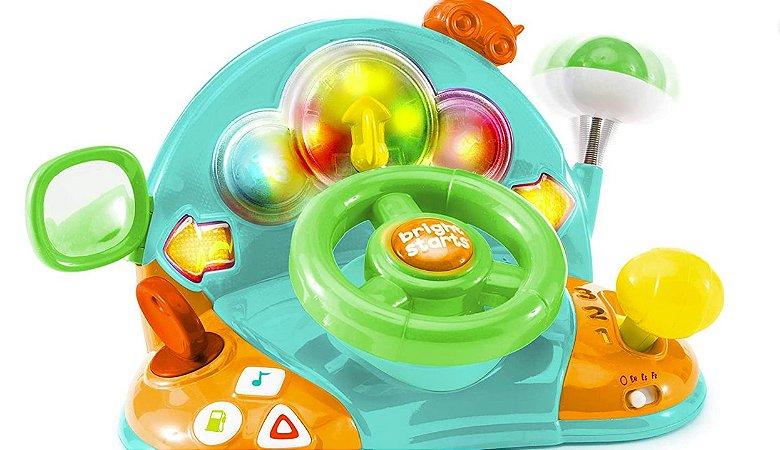 Brinquedo Volante Infantil Light e Colors - Bright Starts