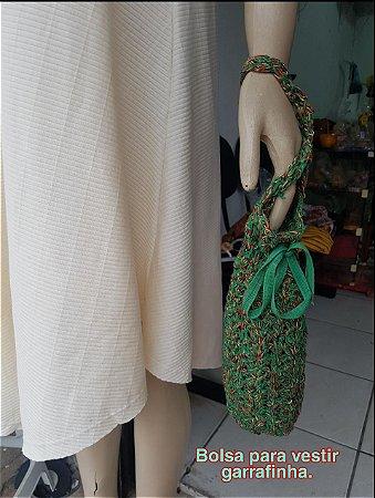 Bolsa para vestir garrafa