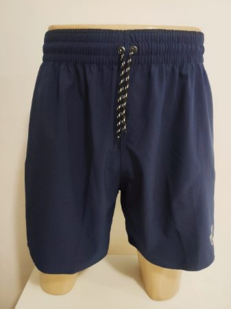 Short Elastano Azul Marinho