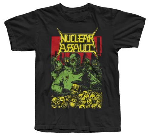 NUCLEAR ASSAULT - Camiseta Oficial - Tour 2019 (Modelo 1)
