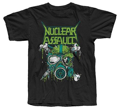 NUCLEAR ASSAULT - Camiseta Oficial - Tour 2019 (Modelo 2)