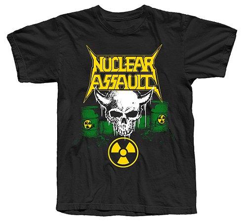 NUCLEAR ASSAULT - Camiseta Oficial - Tour 2019