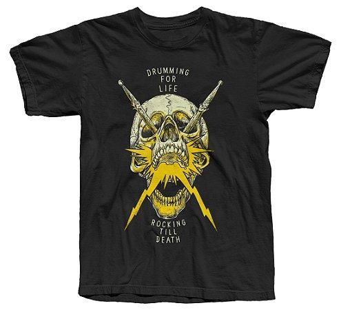 Koolstage Skull Drums - Camiseta