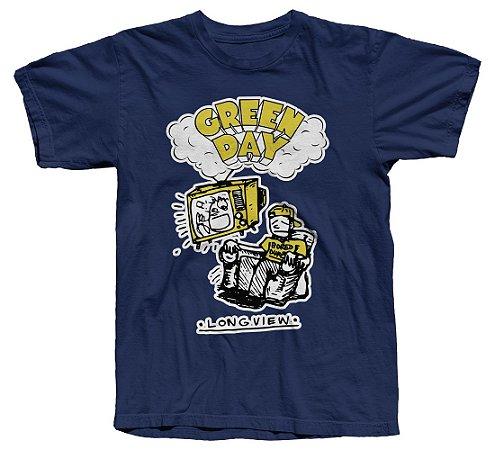 Green Day Brasil - Camiseta - Longview