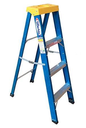 Escada Fibra Americana 03 Degraus + P - 1,20m (W.Bertolo)