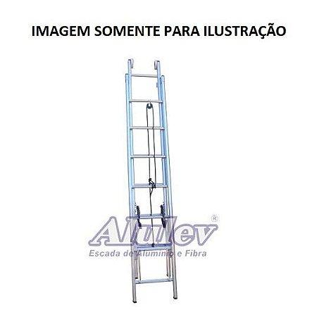 Escada Alumínio Extensível 7,80 M (Alulev)