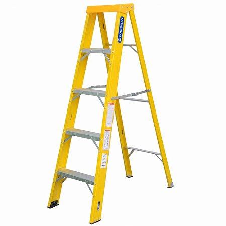 Escada Fibra Americana 04 Degraus (Cogumelo)