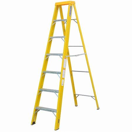 Escada Fibra Americana 06 Degraus (Cogumelo)