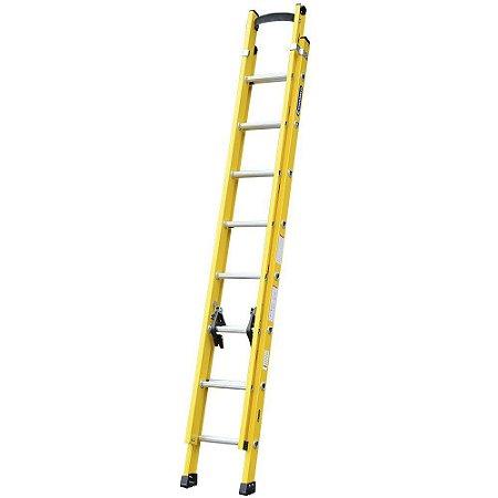 Escada Fibra Extensível Amarela  2,70 x 4,20 m (Cogumelo)