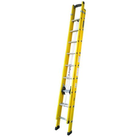 Escada Fibra Extensível Amarela  3,00 x 4,80 m (Cogumelo)