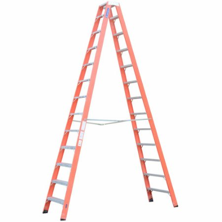 Escada Fibra Pintor 12 Degraus 3,75 m (Cogumelo)