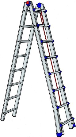 Escada Alumínio Telescópica 6,00 m (Zeus)