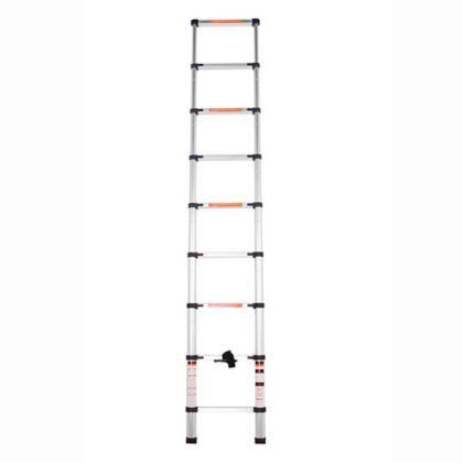Escada Alumínio Telescópica 2,60 M (Bel Fix)