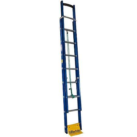 Escada Fibra Extensível Azul 2,60 X 4,10 (W.Bertolo)