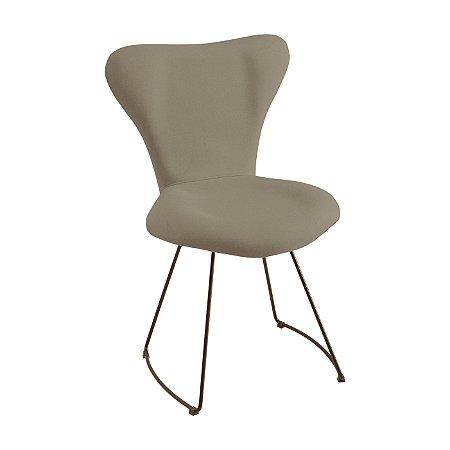 Cadeira Jacobsen  Meia  Cinza