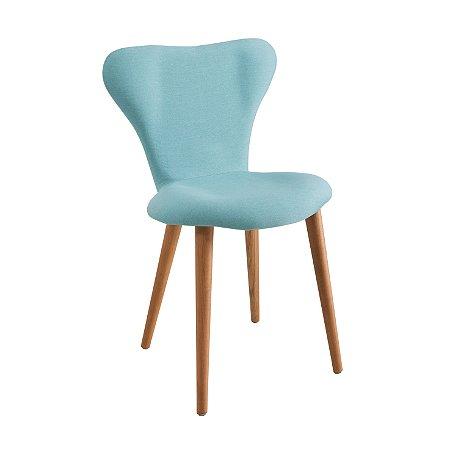 Cadeira Jacobsen Azul Turquesa