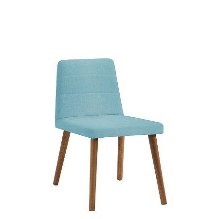 Cadeira Yasmin Azul Turquesa