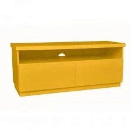 Rack Imperador 137cm com 2 Gavetas Amarelo