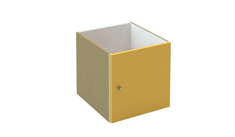 Nicho 1 Porta Amarelo - 1475x1475x386