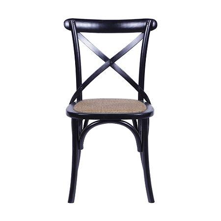 Cadeira Cross Preta