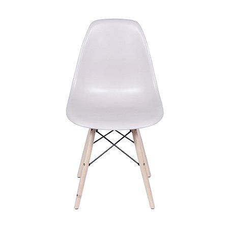 Cadeira DKR Base Madeira Fendi