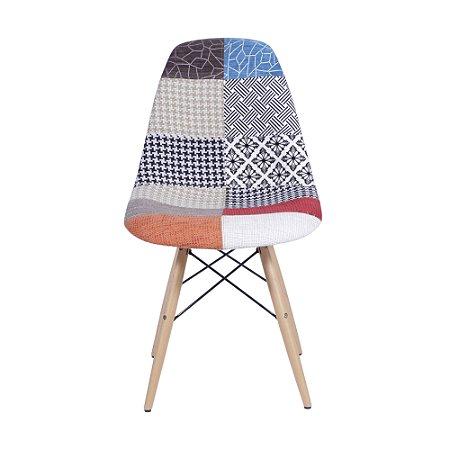 Cadeira DKR Base Madeira Mix