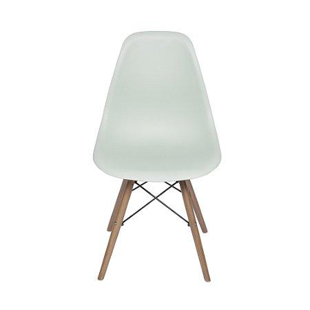 Cadeira DKR Base Madeira Verde Claro