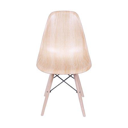 Cadeira DKR Base Madeira Wood