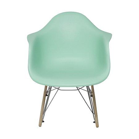 Cadeira DKR Com Braço Base Balanço Tiffany