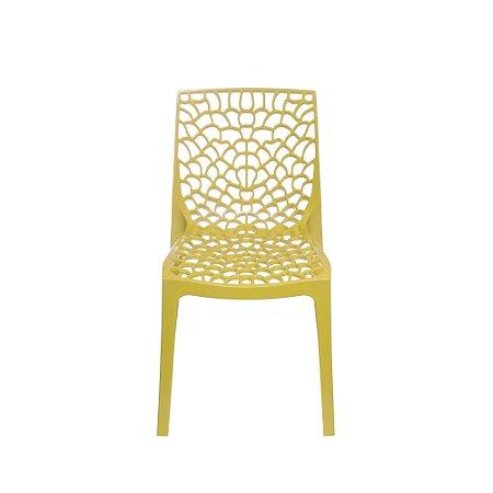 Cadeira Gruvyer PP Amarela