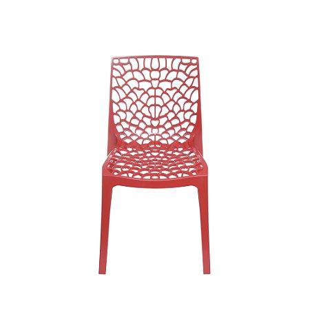 Cadeira Gruvyer PP Vermelha