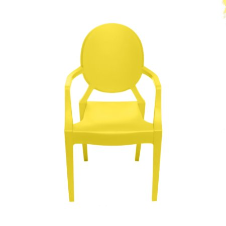 Cadeira Invisible Infantil kids Amarela