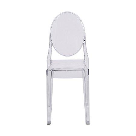 Cadeira Invisible Sem Braço Incolor
