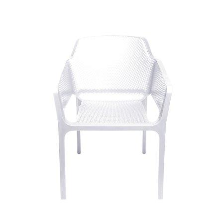 Cadeira Vega Com Braço Branca