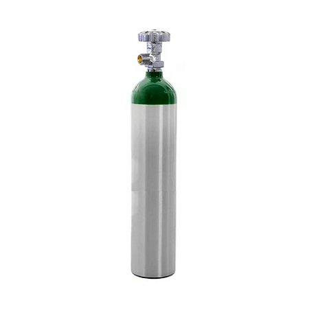 Cilindro em Alumínio para Oxigênio 5L – Sem Carga