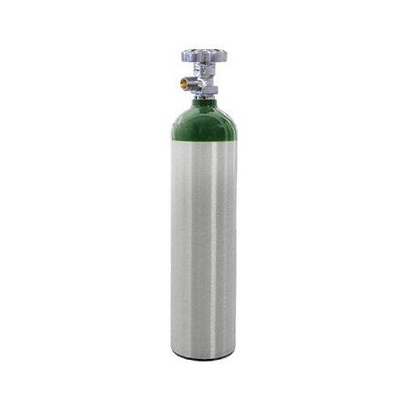Cilindro em Alumínio para Oxigênio 3L – Sem Carga